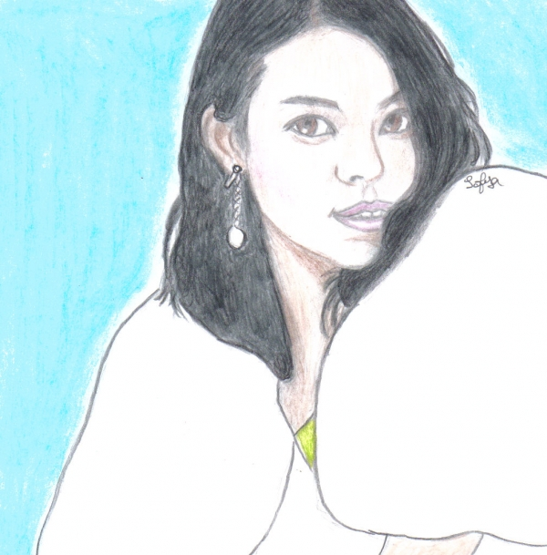 Stars portraits - portrait de song hye kyo par sofya